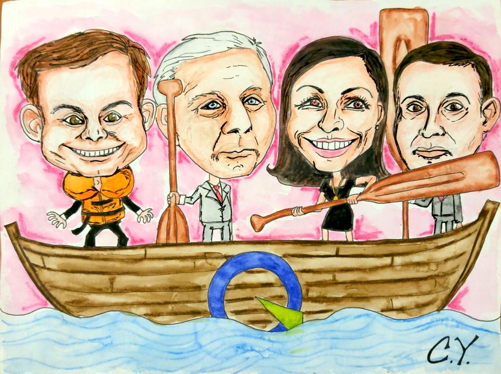 Le bateau du PQ