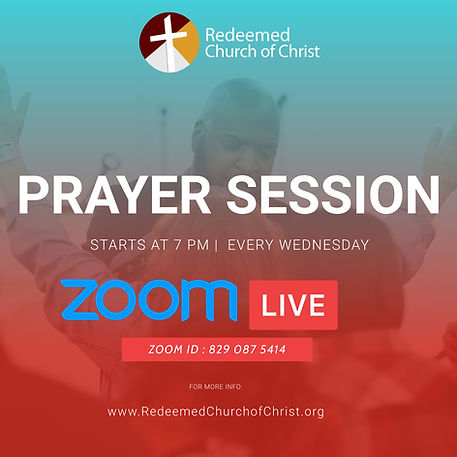Copy of ZOOM PRAYER SERVICE TEMPLATE (1)