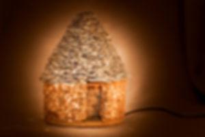 Lampe ocre