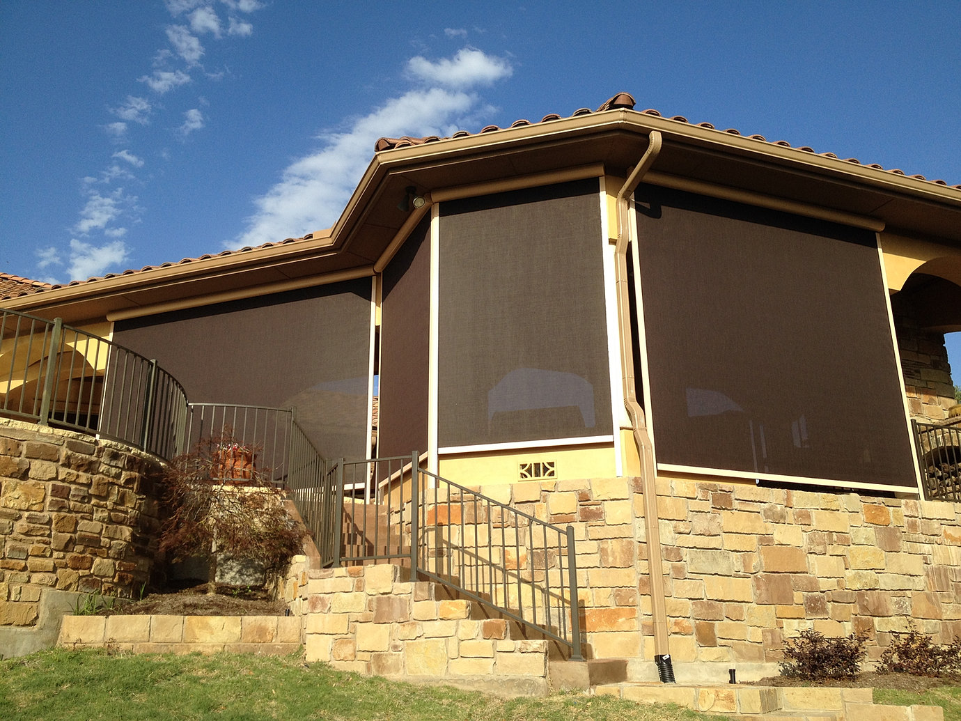 Outdoor Patio Shades Austin Lampasas Legacy Awning Shade