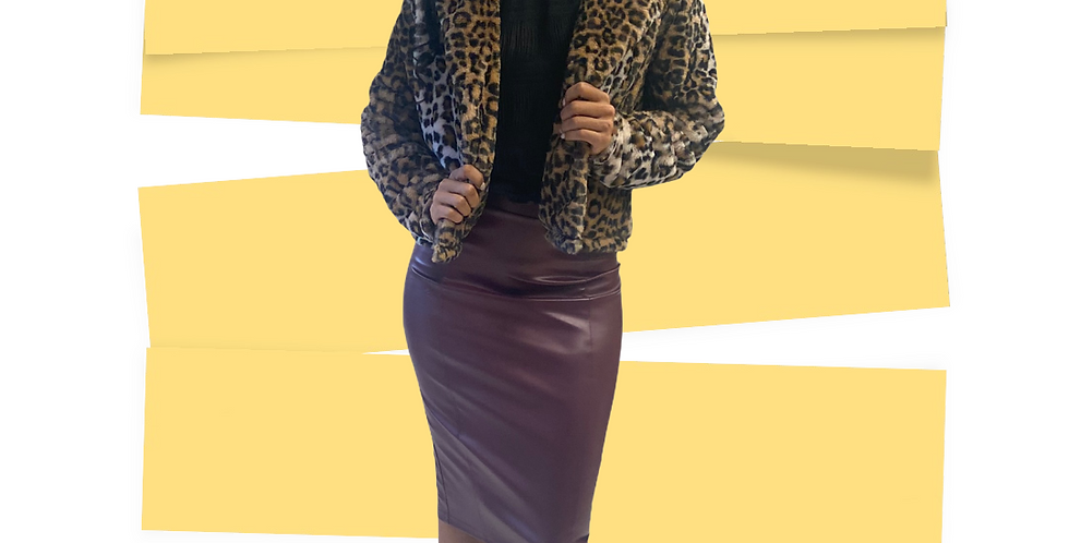 Lightweight Leopard Jacket