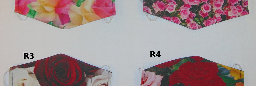 Sublimated Mask|Floral Series