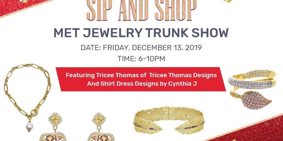 Met Jewelry Trunk Show|Sip & Shop