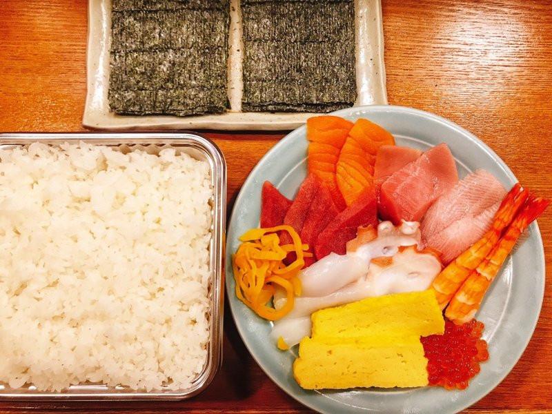 お家で手巻き寿司を‼️