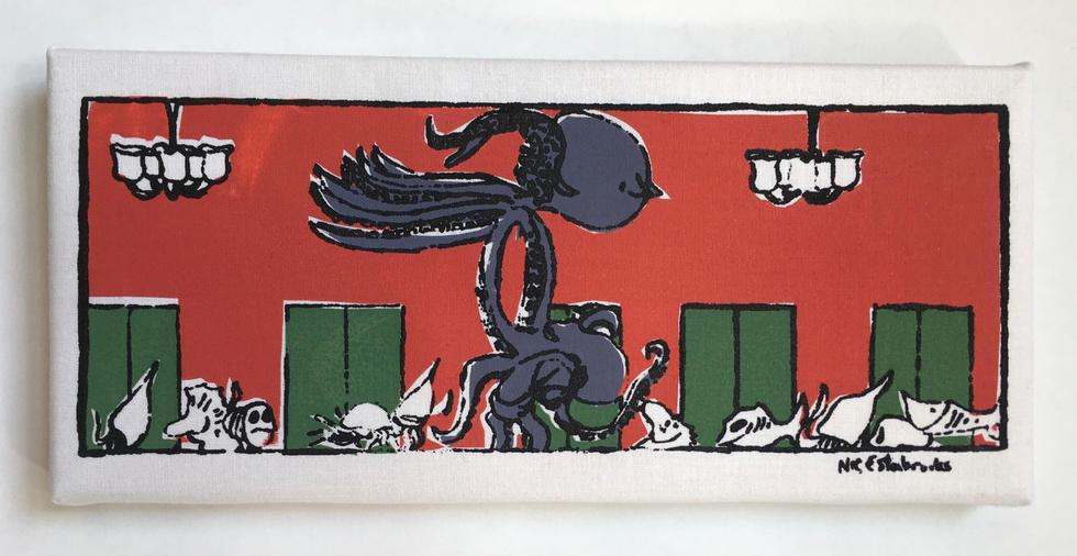 Octopus Dirty Dancing