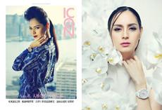 magazine cover and fashion spread  Ana R. 全名Ana Maria Adorno-Rivera Hana Hwang,在美國德克薩斯州出生的香港模特兒,西韓混血兒。                      IconAnaR2015.jpg