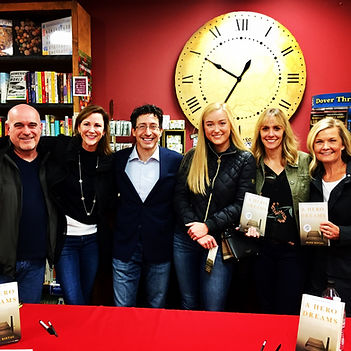 Author Mark Ristau at Inklings Bookshop in Yakima, Washington for reading and book signing