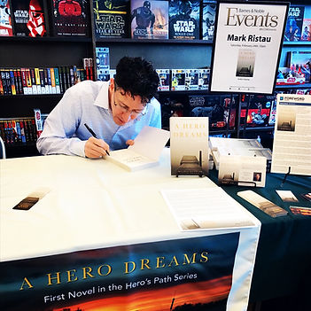 Author Mark Ristau Barnes & Noble in Naples, Florida for book signing