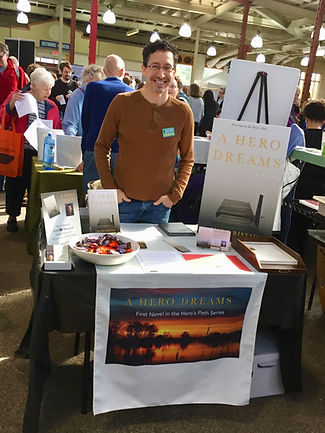 Author Mark Ristau at Twin Cities Book Festival