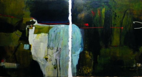 Bump in the Night (diptych)