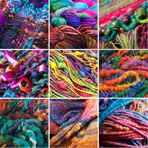 Suzy Brown - Wool Wench Handspun Yarn