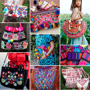 Bohemian Bags for a colourful summer