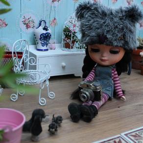 Chuditas Dolls by Judith Gonzalez