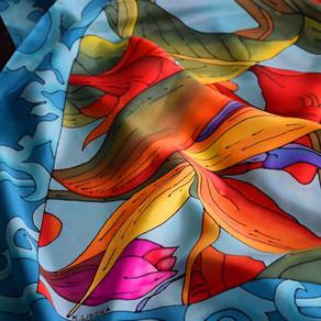 Silk Art by Katarzyna Pander-Liszka