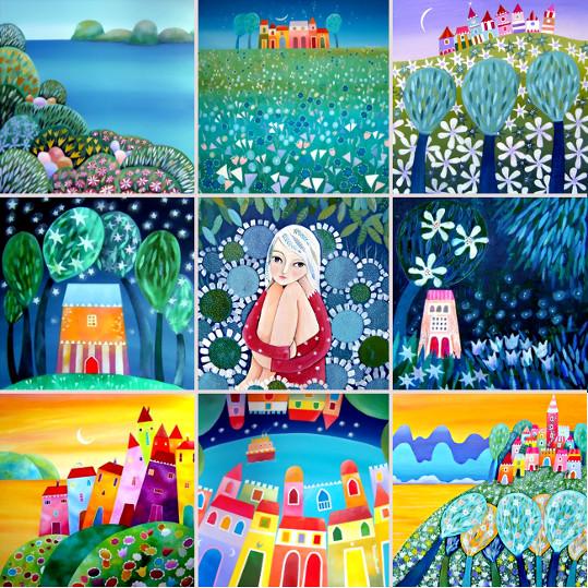 Tiziana Rinaldi Folt Bolt The Colorful Art Palette