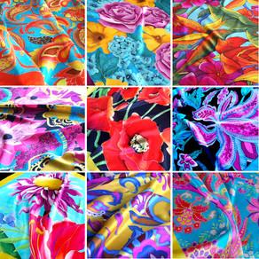 Silk Art by Katarzyna