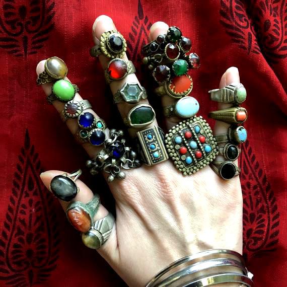 Afghan rings