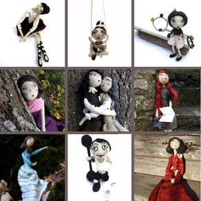 Gioconda Pieracci - Pupillae Art Dolls