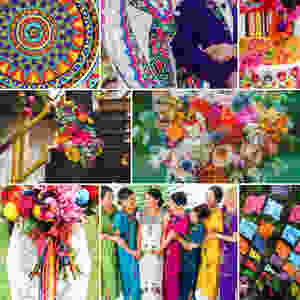 bohemian wedding ideas on Folt Bolt