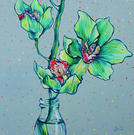 The Green Orchid