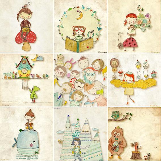 Cutie Cards by Folt Bolt
