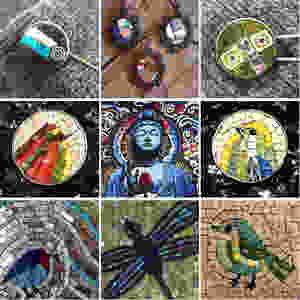 Sara Gazzola Mosaics by Folt Bolt