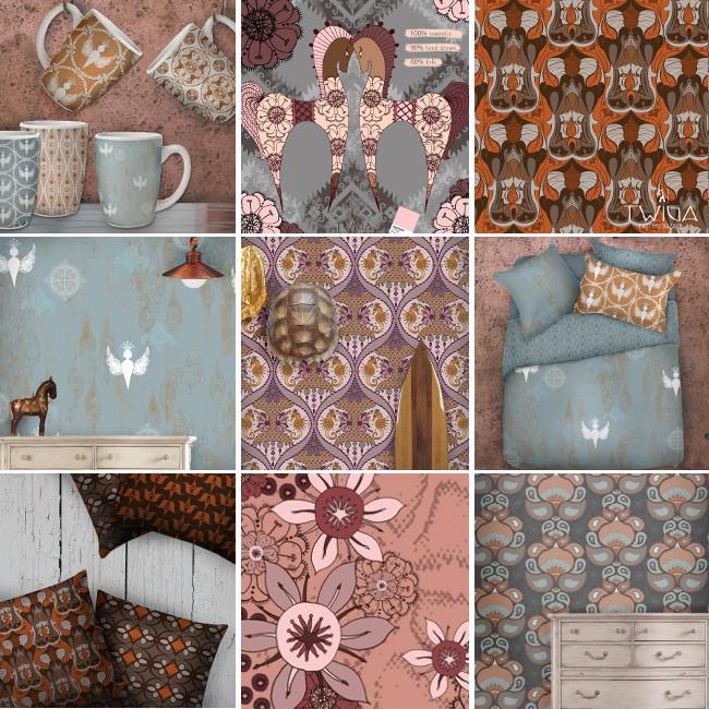 Twiga Pattern Bazaar by Folt Bolt