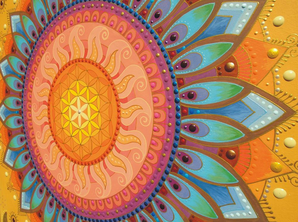 Sunmandalas by Je on Folt Bolt