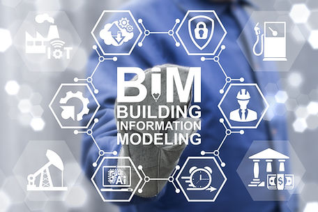 BIM building information modeling oil in