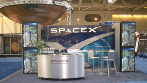 SpaceX Tradeshow Booth