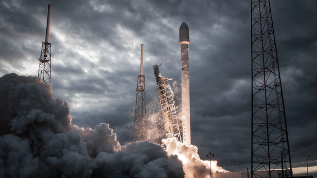 SpaceX Falcon's First Flight