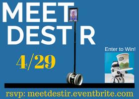 Public Invited: RSVP to Meet Destir, the Telepresence Robot 4/29 @ RVC