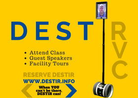 When YOU can't be there, DESTIR can!