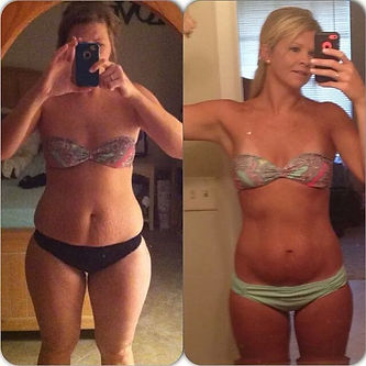 Client results Rameltdown Fitness