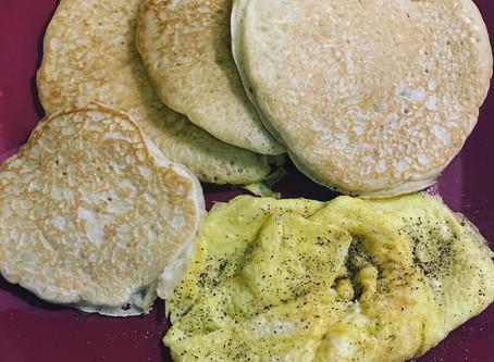 Whole Wheat-Oatmeal Pancakes Recipe
