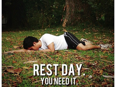 The importance of rest days