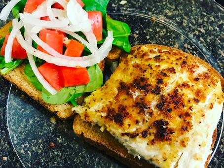 Whole Wheat-Breaded Chicken Sandwich