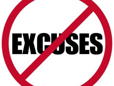 Overcoming Excuses