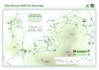 Tabel Mountain Biking Trail