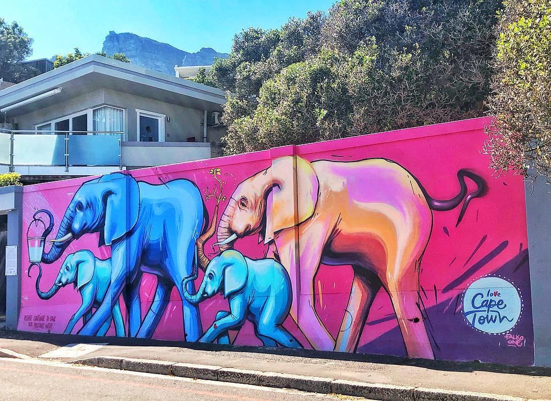 Bakoven Elephant Mural