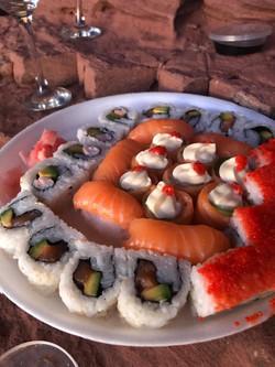 Sushi & Sunset