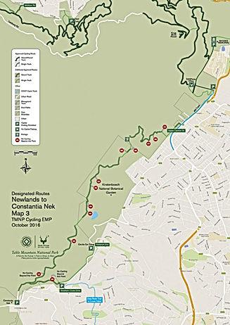 E-MTB NEWLANDS TRAIILS MAP