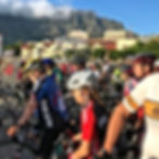 Cape town cycle tour start line