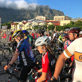 Start of the Cape Town Cycle Tour