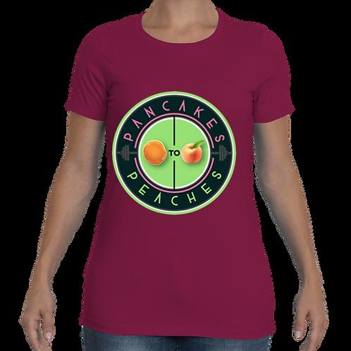 Women's Cut Crew Neck Tee (Lush/Apple)