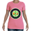 Thumbnail: Women's Cut Crew Neck Tee (Pink/Apple)