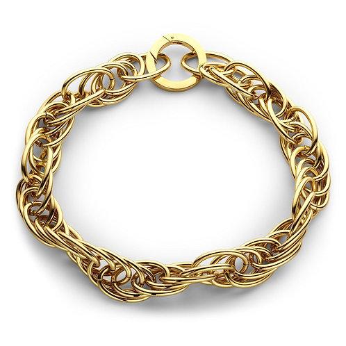 Souvenir de Pomme - Large Snake Necklace