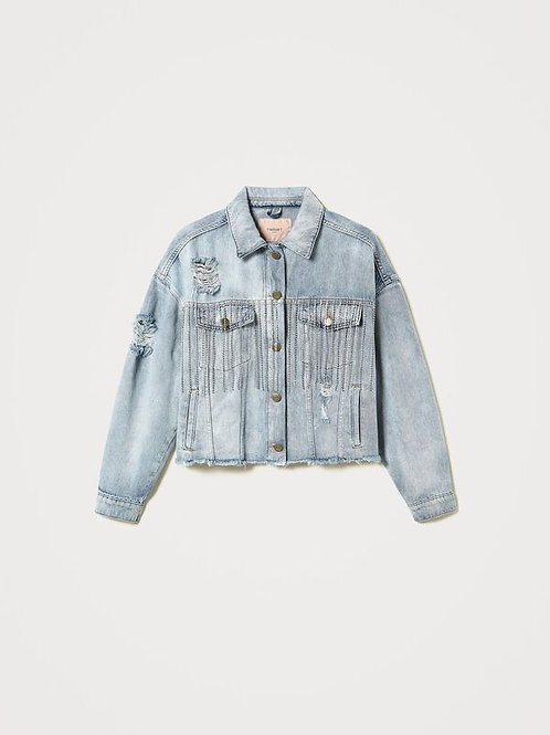 Twin-set denim jacket 013560