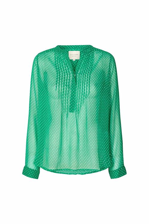Lollys Laundrys Helena Shirt Green
