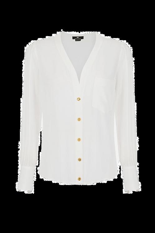 Elisabetta Franchi Women's blouse Avorio
